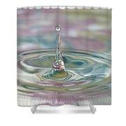 Pastel Water Sculpture 2 Shower Curtain