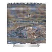Pastel Water Sculpture 5 Shower Curtain