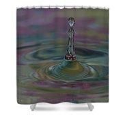 Pastel Water Sculpture 8 Shower Curtain