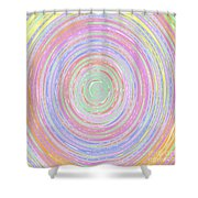Pastel Whirlpool Shower Curtain