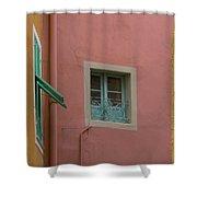 Pastel Windows Shower Curtain