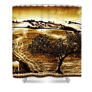 Pastelero Textures Shower Curtain