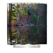 Pastels In Reflection  Shower Curtain