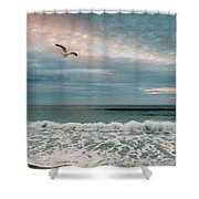 Pastels Shower Curtain