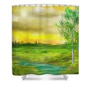 Pastoral Shower Curtain