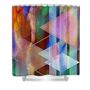 Pastoral Midnight Shower Curtain