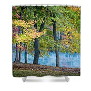 Pastoral River Shower Curtain