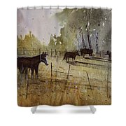 Pastoral Shower Curtain