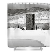 Pastoral Winter Shower Curtain