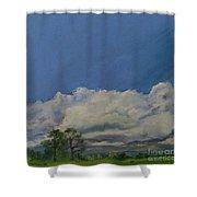 Pasture II Shower Curtain