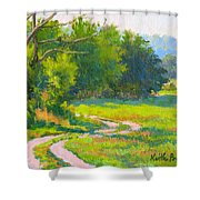 Pasture Road Shower Curtain