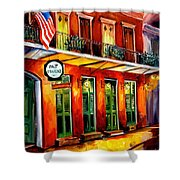 Pat O Briens Bar Shower Curtain