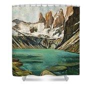 Patagonia Shower Curtain