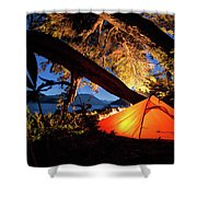 Patagonia Landscape Camping Shower Curtain