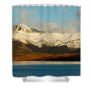 Patagonia Panorama Shower Curtain