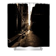Patan Nepal Shower Curtain