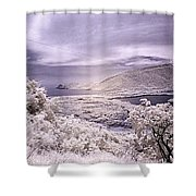 Patanemo Ir Shower Curtain