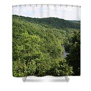 Patapsco Valley State Park - Overlook Shower Curtain