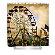 Patch Of Blue Shower Curtain by Bob Orsillo