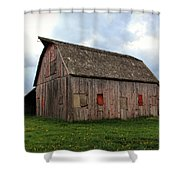 Patched And Still Standing Shower Curtain