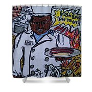 Pater Shower Curtain