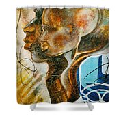 Paternal Captivity Shower Curtain