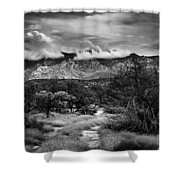Path Of Contradiction Shower Curtain