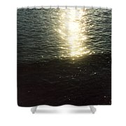Path Of Sunlight Shower Curtain