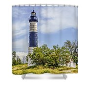 Path To Big Sable Shower Curtain