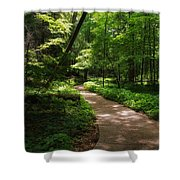 Path To Conkle's Hollow Shower Curtain