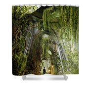 Path To Inner Peace Shower Curtain by Mary Hood