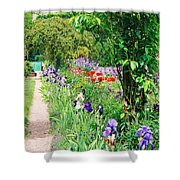 Path To Monet's House Shower Curtain
