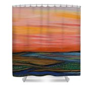 Path To Peace Shower Curtain