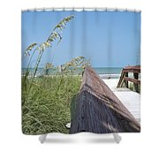Path To Relaxation Shower Curtain
