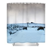 Path To South Hessary Tor II Shower Curtain
