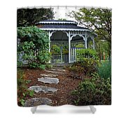 Path To The Gazebo Shower Curtain