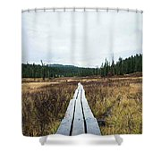 Path To The Unknown Shower Curtain