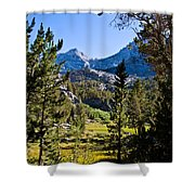 Path To Treasure Lakes Shower Curtain