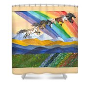 Paths Of Diversity Shower Curtain