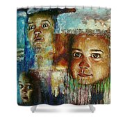 Paths Of Life Shower Curtain
