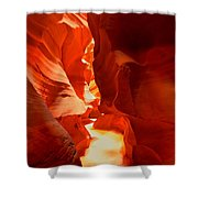 Pathway Through Upper Antelope Shower Curtain