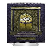 Pathway To Peace Shower Curtain