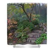Pathway To Serenity Shower Curtain