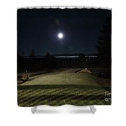Pathway To The Moon Shower Curtain