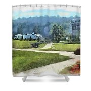 Pathways Shower Curtain