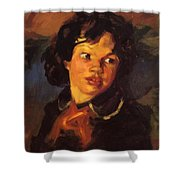 Patience 1915 Shower Curtain