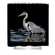 Patience On Little Lake Shower Curtain