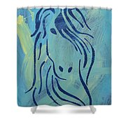 Patience Shower Curtain by Candace Shrope