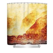 Patina 2 Shower Curtain