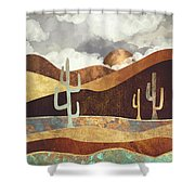Patina Desert Shower Curtain